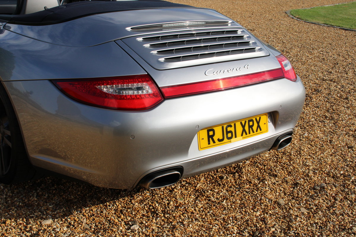 2012 MDL PORSCHE 997 C4 3.6 PDK CAB – 33,000 MILES – £45,950 For Sale (picture 5 of 6)