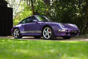 1998 RARE 993 LOW MILEAGE MANUAL C 4S - SPECTACULAR VIOLET BLUE   For Sale