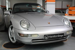 1997 (P) Porsche 911 3.6 [993] Carrera Cabriolet Tiptronic S