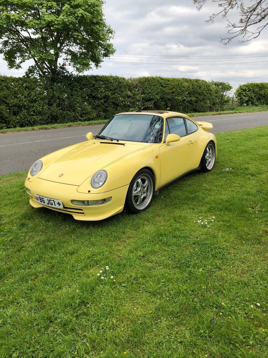 1997 Porsche Carrera 911 Yellow For Sale (picture 1 of 6)