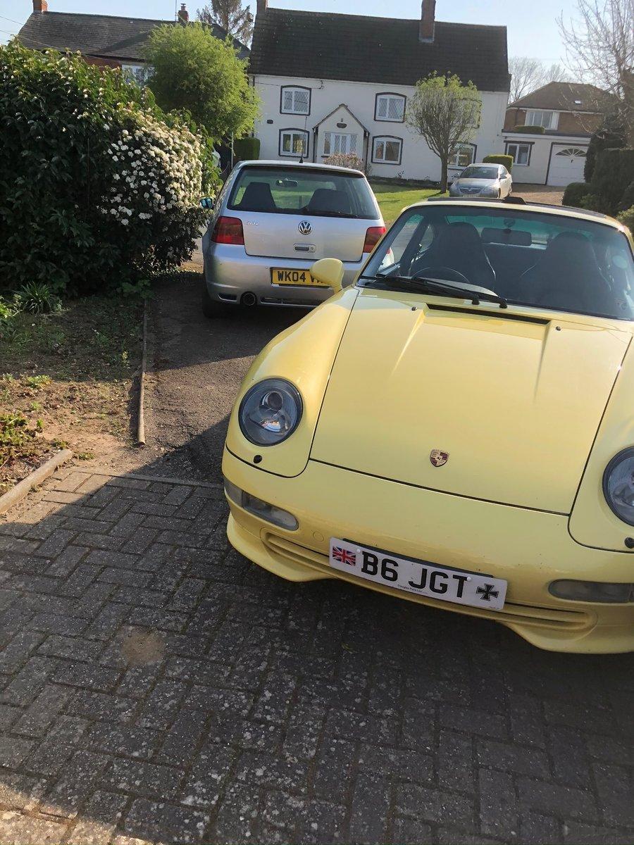 1997 Porsche Carrera 911 Yellow For Sale (picture 5 of 6)