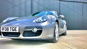 2006 Porsche Cayman 2.7 2008 Only 52,000 miles Superb ! For Sale