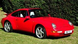 1995 PORSCHE 911 CARRERA 993 AUTO TIP COUPE For Sale