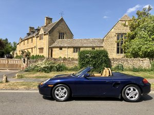 2002 Porsche Boxster 2.7 Tiptronic in Lapis Blue For Sale
