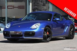 2005 (2006 MY) RESERVED Porsche 987 Cayman S manual SOLD