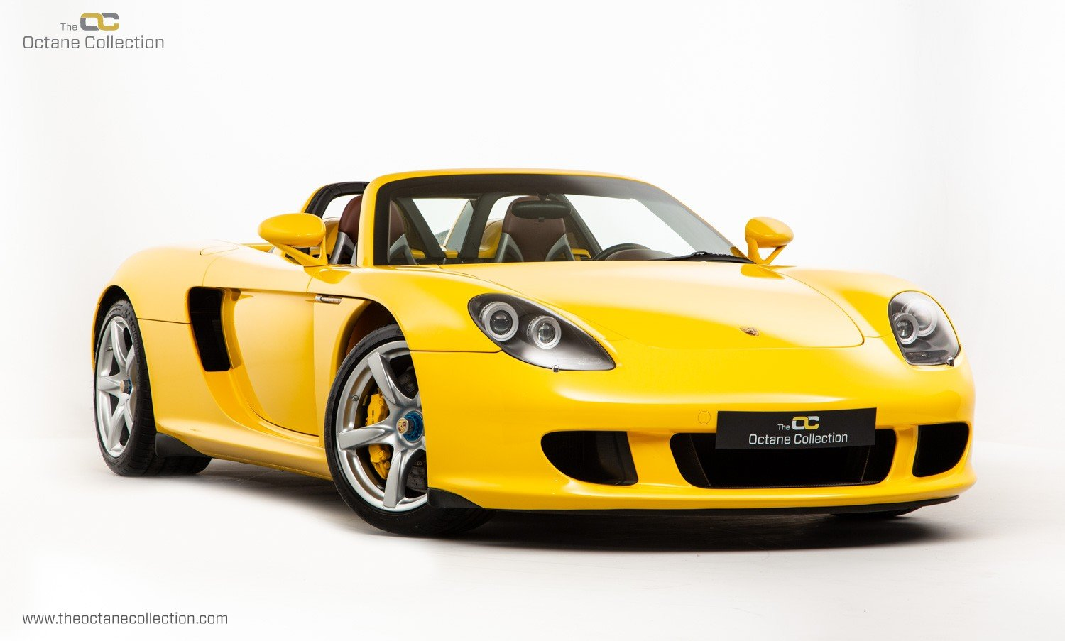 2006  PORSCHE CARRERA GT // SPEED YELLOW // ENGINE OUT SERVICE For Sale (picture 1 of 23)