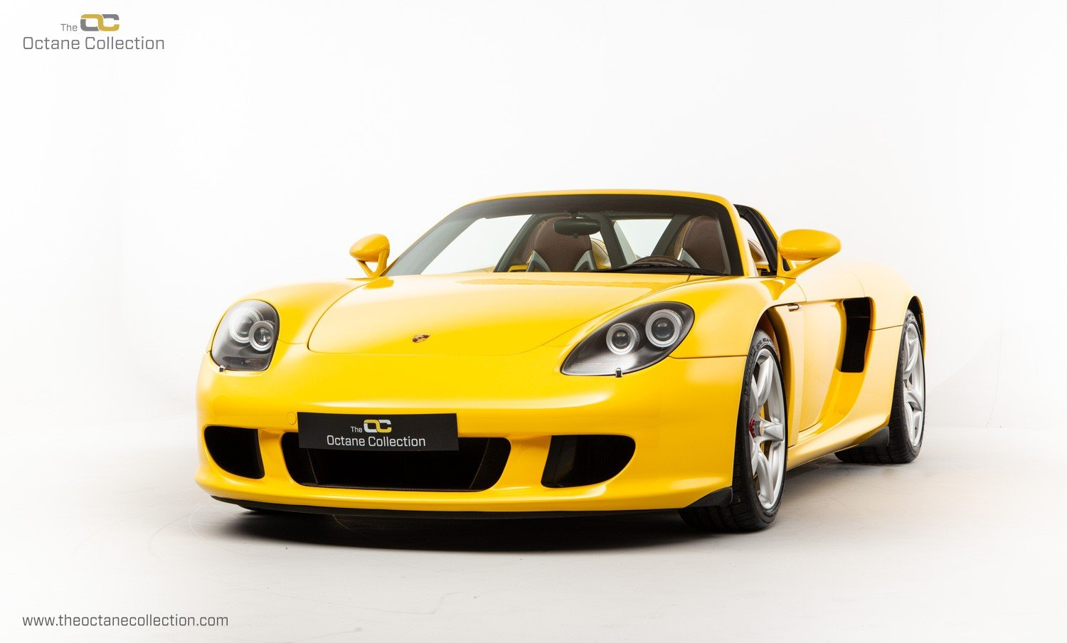 2006  PORSCHE CARRERA GT // SPEED YELLOW // ENGINE OUT SERVICE For Sale (picture 2 of 23)