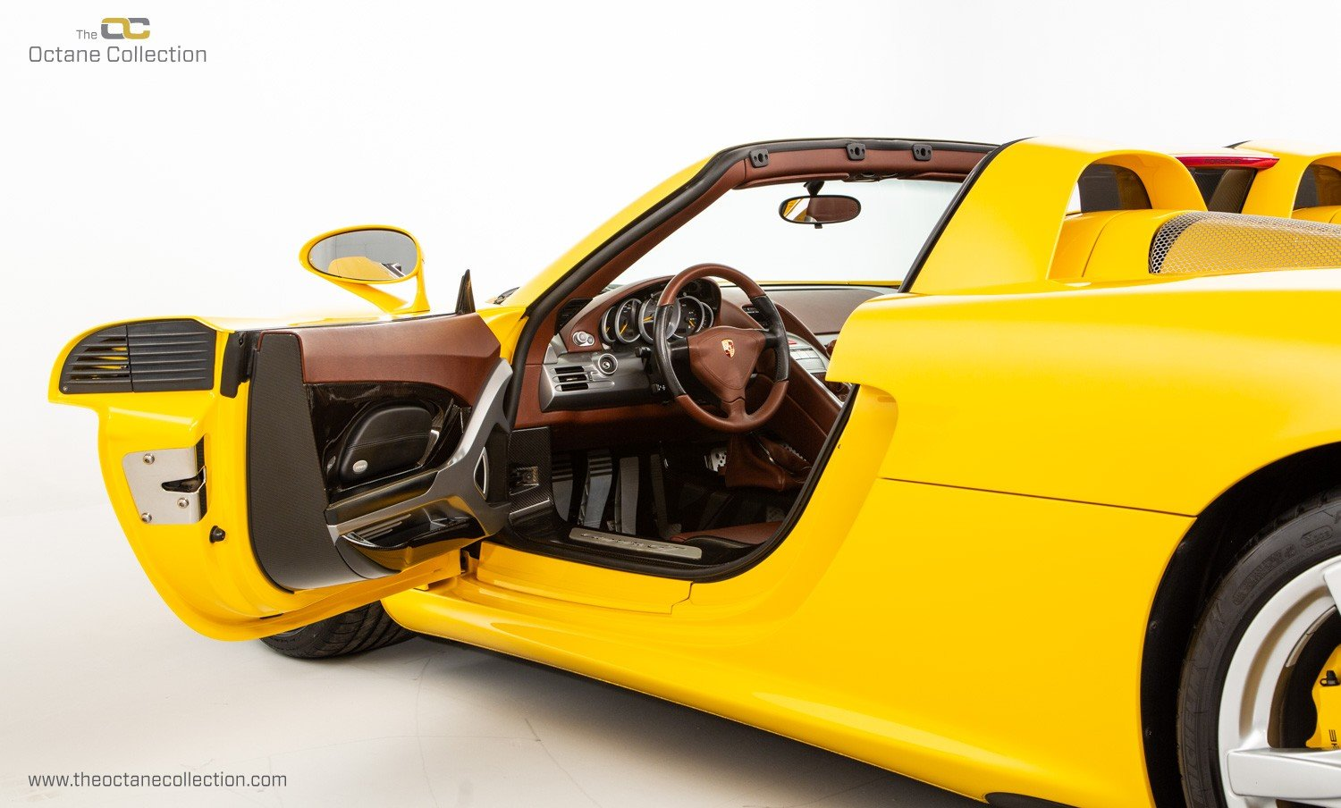 2006  PORSCHE CARRERA GT // SPEED YELLOW // ENGINE OUT SERVICE For Sale (picture 10 of 23)