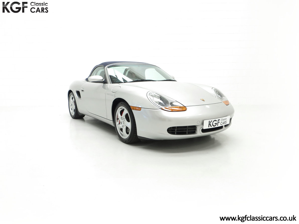 2001 A Fantastic Porsche Boxster S 3.2 Manual with 16,472 Miles For Sale (picture 1 of 24)