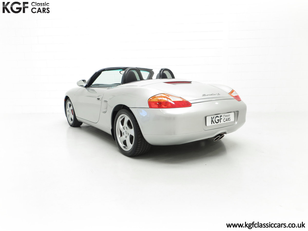 2001 A Fantastic Porsche Boxster S 3.2 Manual with 16,472 Miles For Sale (picture 8 of 24)