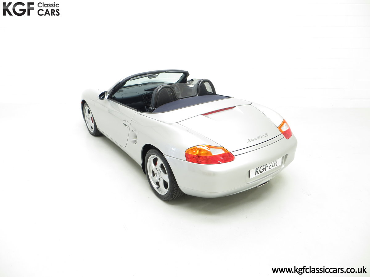 2001 A Fantastic Porsche Boxster S 3.2 Manual with 16,472 Miles For Sale (picture 9 of 24)