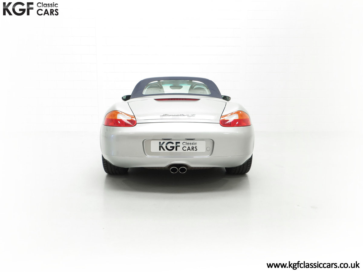 2001 A Fantastic Porsche Boxster S 3.2 Manual with 16,472 Miles For Sale (picture 10 of 24)