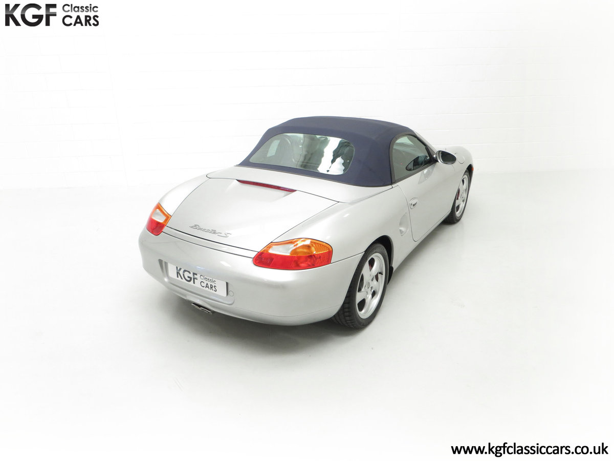 2001 A Fantastic Porsche Boxster S 3.2 Manual with 16,472 Miles For Sale (picture 12 of 24)