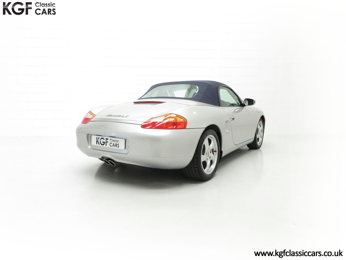 2001 A Fantastic Porsche Boxster S 3.2 Manual with 16,472 Miles For Sale (picture 13 of 24)