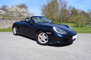 2002 02/52 Porsche Boxster 2.7 Manual - 33k - 4 owners SOLD