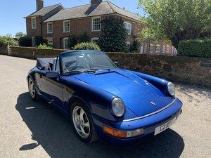 1991 Porsche 911 964 Convertible For Sale