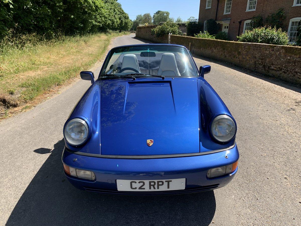 1991 Porsche 911 964 Convertible For Sale (picture 6 of 6)