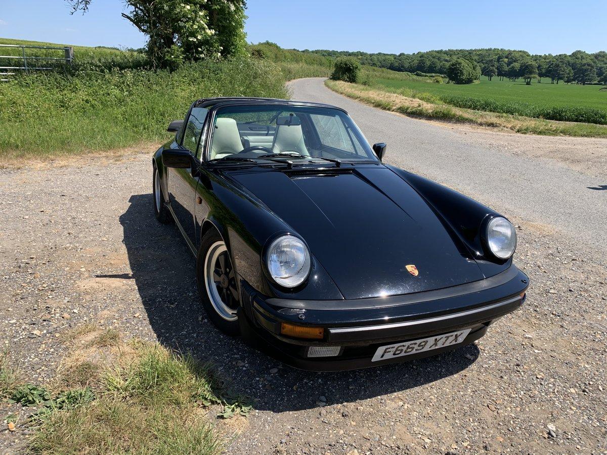 1988 Porsche 3.2 targa For Sale (picture 1 of 6)