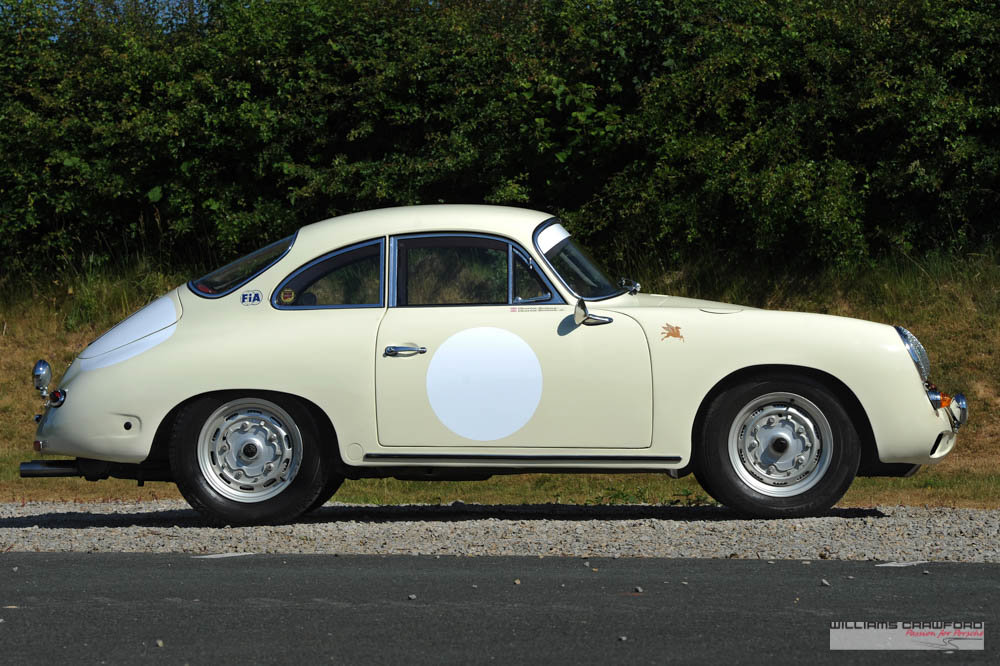 1963 Porsche 356 B T6 1600 coupe by Karmann For Sale (picture 2 of 6)