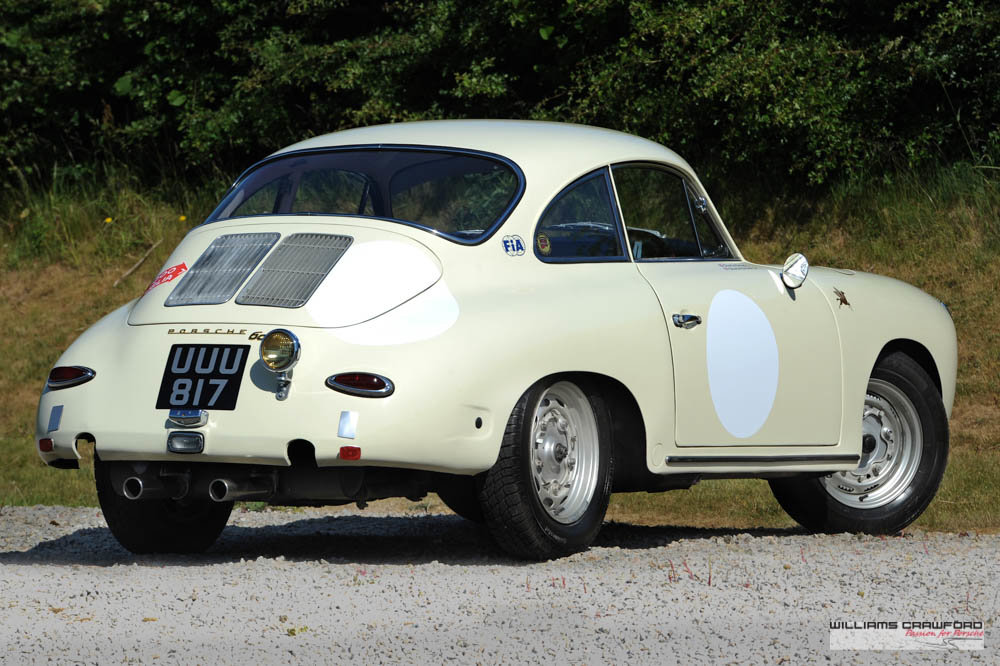 1963 Porsche 356 B T6 1600 coupe by Karmann For Sale (picture 3 of 6)