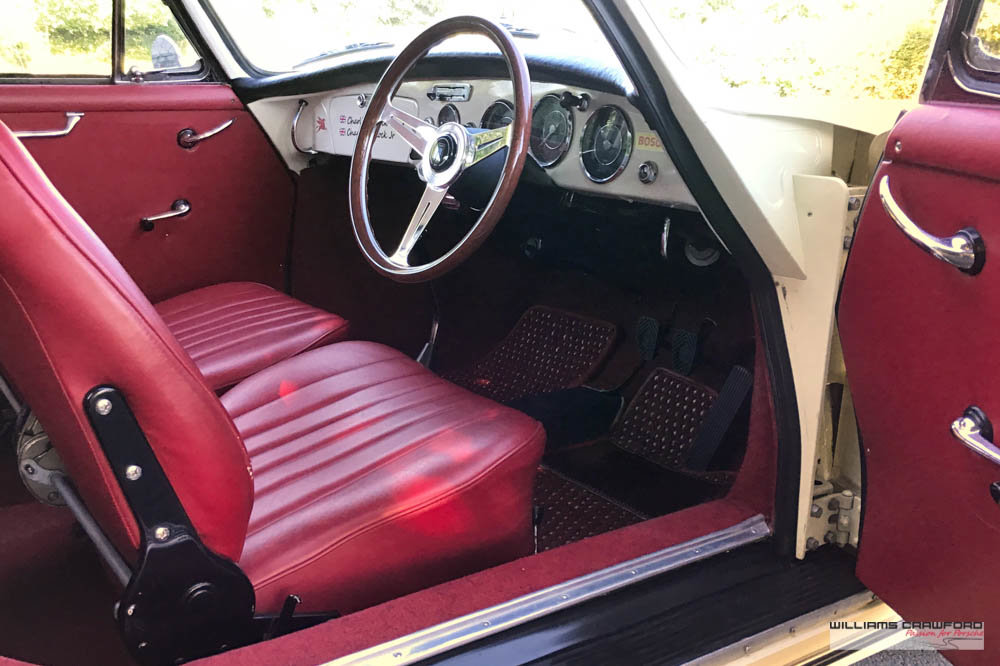 1963 Porsche 356 B T6 1600 coupe by Karmann For Sale (picture 4 of 6)