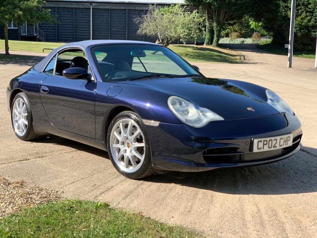 2002 Porsche 996 Cabriolet immaculate and original For Sale (picture 1 of 6)