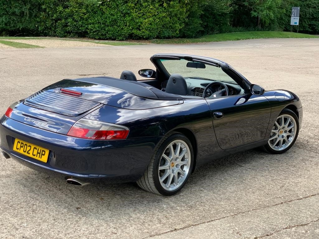 2002 Porsche 996 Cabriolet immaculate and original For Sale (picture 2 of 6)