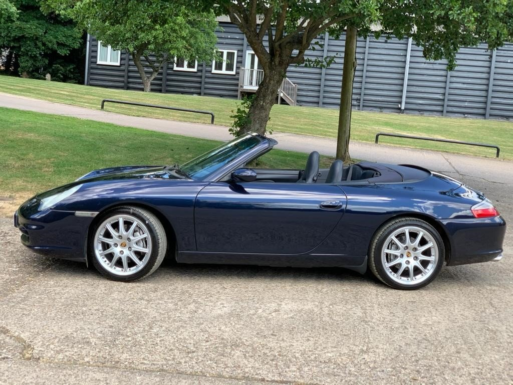 2002 Porsche 996 Cabriolet immaculate and original For Sale (picture 3 of 6)