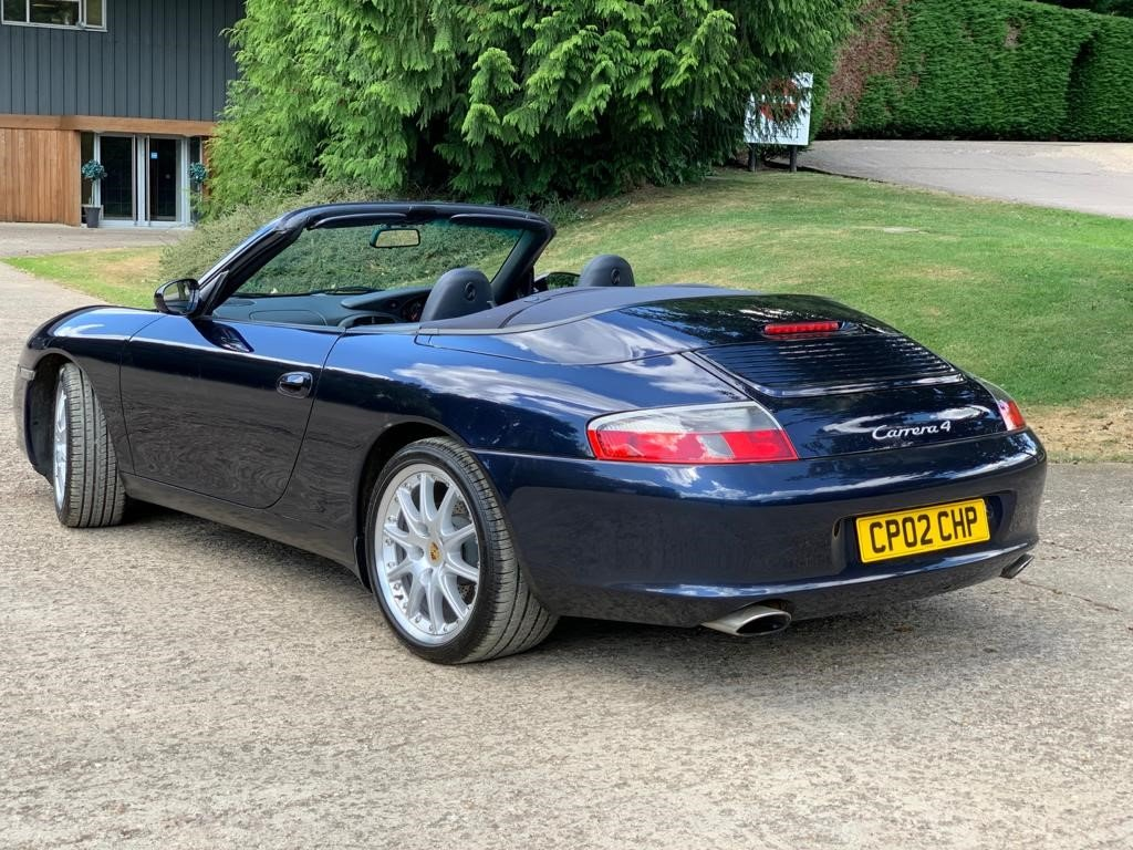 2002 Porsche 996 Cabriolet immaculate and original For Sale (picture 4 of 6)