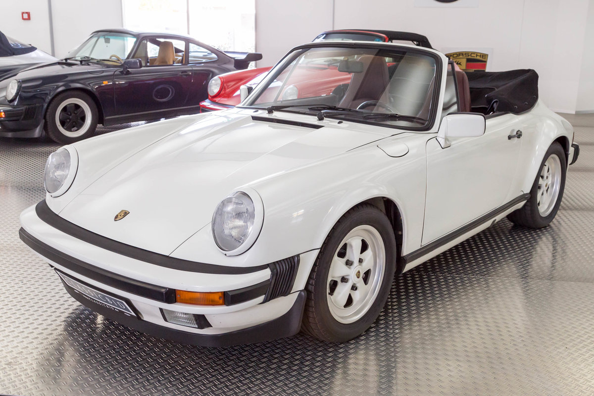 1987 Porsche 911 Carrera 3.2 Cabrio For Sale (picture 1 of 6)