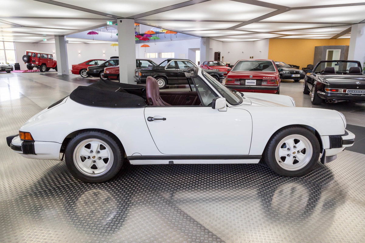1987 Porsche 911 Carrera 3.2 Cabrio For Sale (picture 2 of 6)