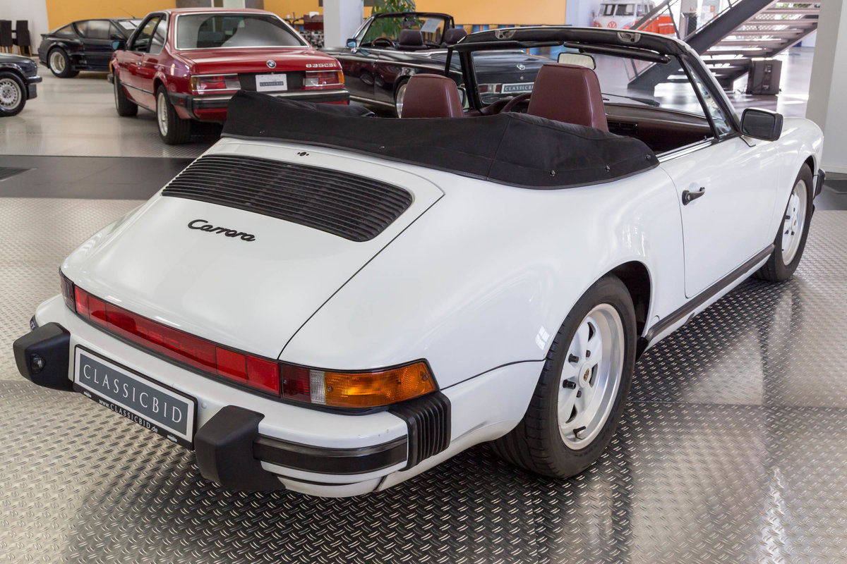 1987 Porsche 911 Carrera 3.2 Cabrio For Sale (picture 4 of 6)