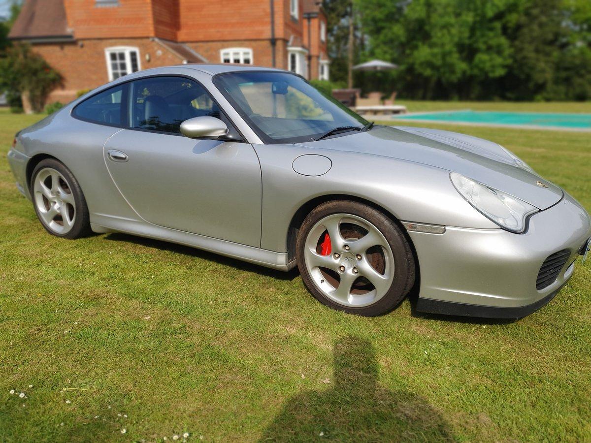 2003 Porsche C4S Turbo body 911, Silver full history For Sale (picture 1 of 6)