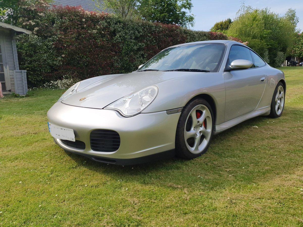 2003 Porsche C4S Turbo body 911, Silver full history For Sale (picture 2 of 6)