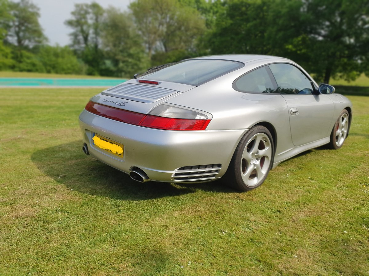 2003 Porsche C4S Turbo body 911, Silver full history For Sale (picture 3 of 6)
