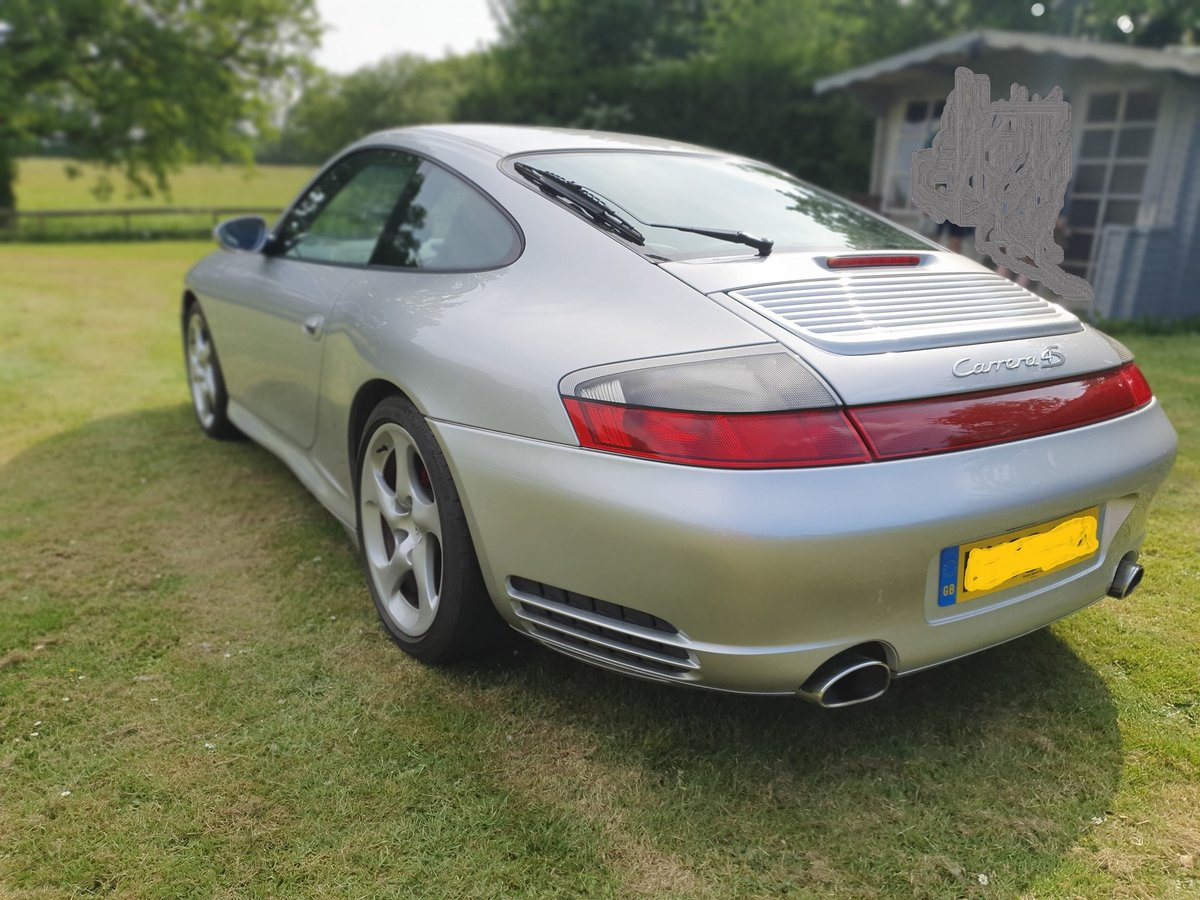 2003 Porsche C4S Turbo body 911, Silver full history For Sale (picture 4 of 6)