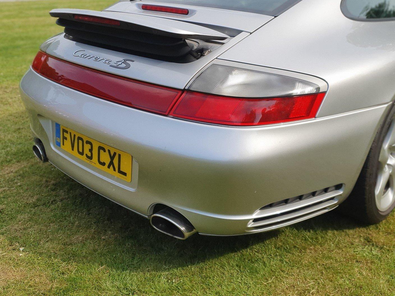 2003 Porsche C4S Turbo body 911, Silver full history For Sale (picture 6 of 6)