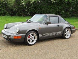 1990 Porsche 911 3.6 Carrera 2 Targa at ACA 20th June  For Sale