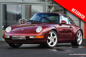 1996 RESERVED - Porsche 993 Carrera manual coupe SOLD