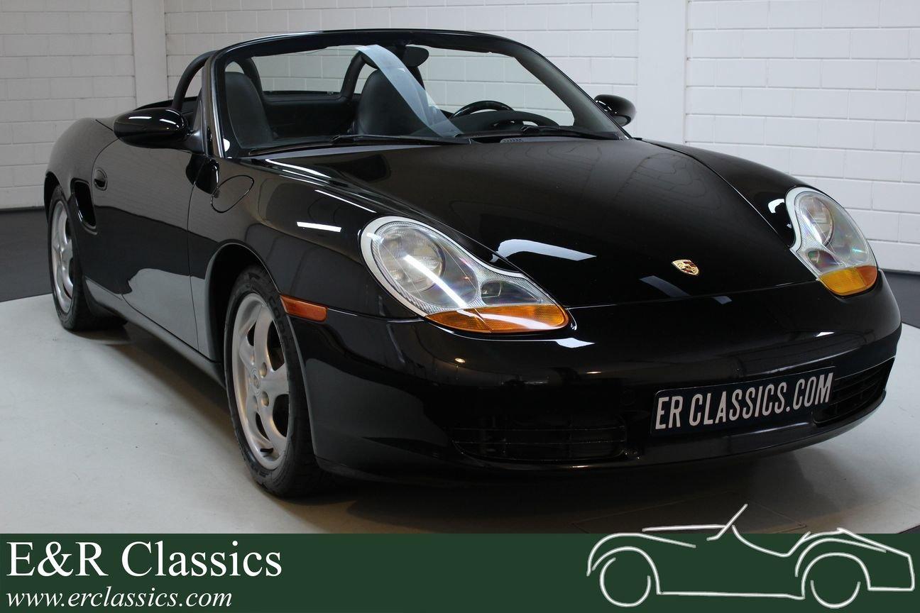 Porsche Boxster 2.5 Cabriolet 1998 Triple Black For Sale (picture 1 of 6)