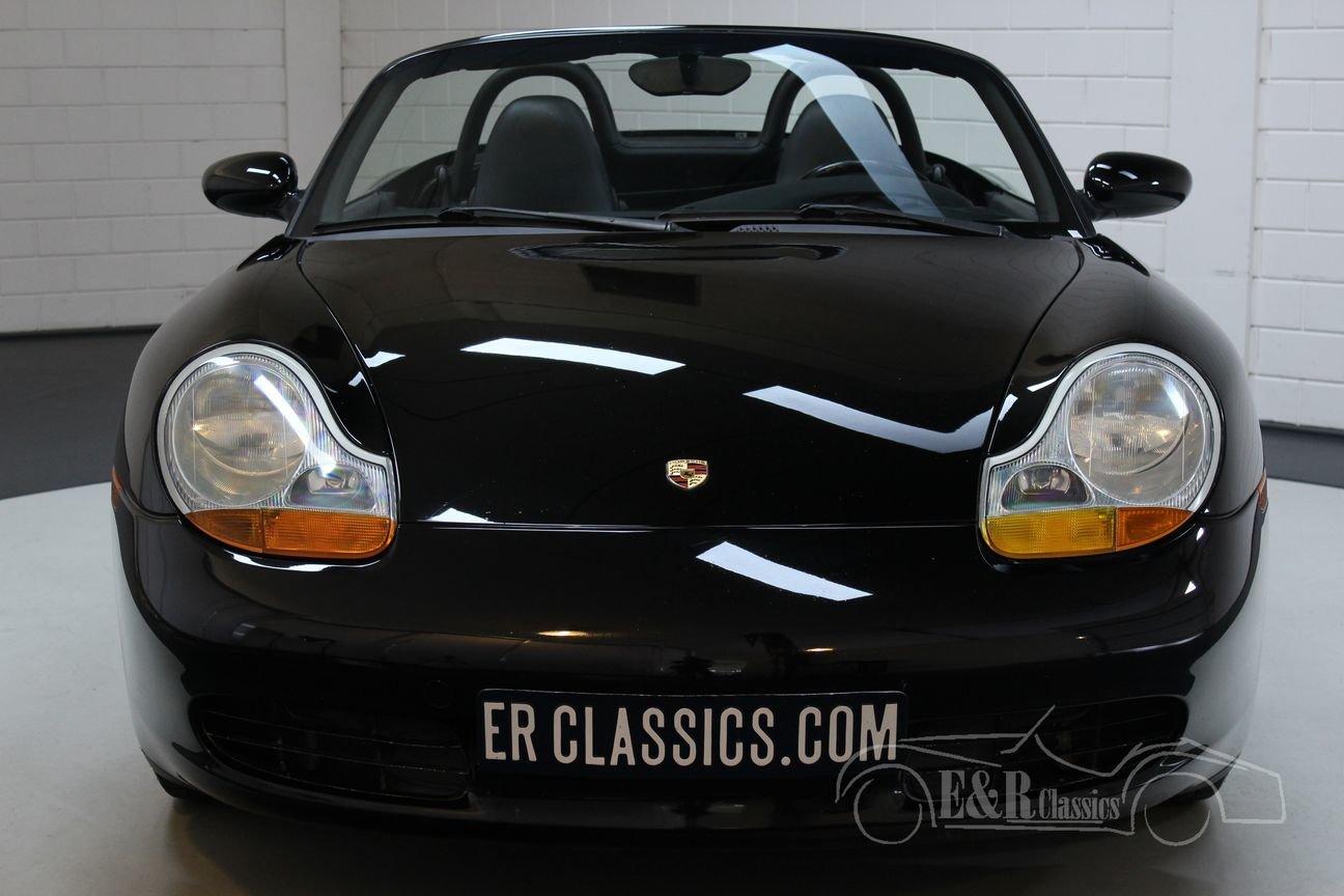 Porsche Boxster 2.5 Cabriolet 1998 Triple Black For Sale (picture 4 of 6)