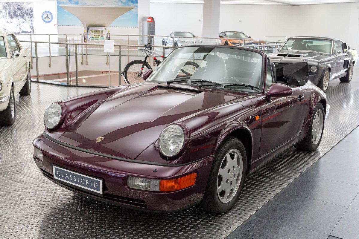 1991 Porsche 911 Carrera 4 Cabrio (964) For Sale (picture 1 of 6)