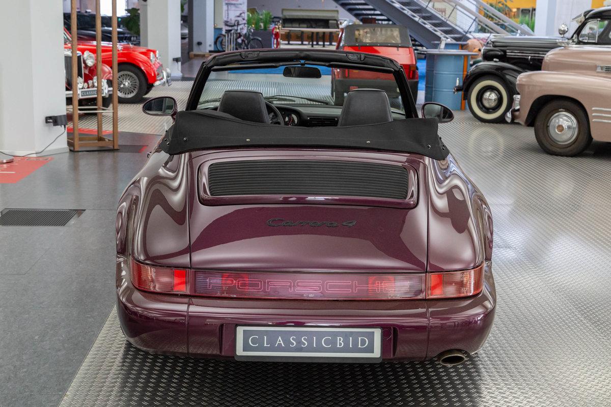 1991 Porsche 911 Carrera 4 Cabrio (964) For Sale (picture 3 of 6)