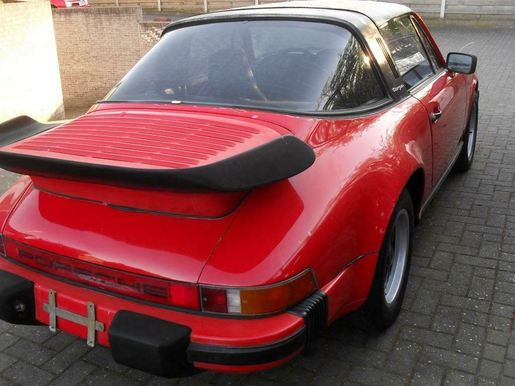 1982 LHD   Porsche 911 sc 3.0 Targa red   /  LEFT HAND DRIVE For Sale (picture 3 of 6)