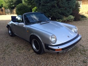 1987 911 3.2 Carrera Cabriolet G50 For Sale