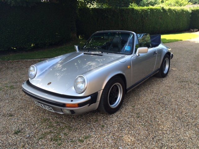 1987 911 3.2 Carrera Cabriolet G50 SOLD (picture 2 of 6)