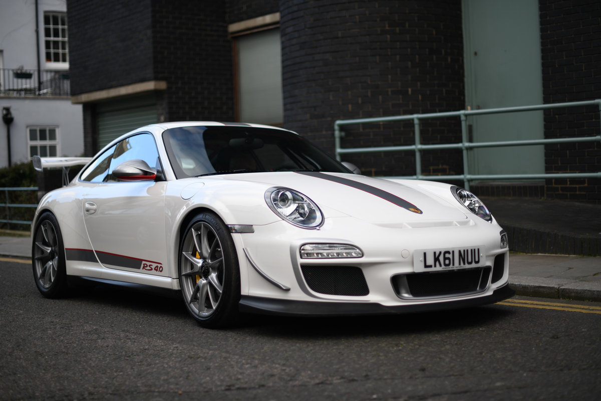 2011-PORSCHE 997 GEN II GT3 RS 4.0 GRANDPRIX WHITE -  For Sale (picture 1 of 6)