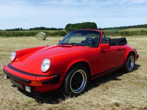 Porsche 911 3.0 Convertible - only 161 km after restoration