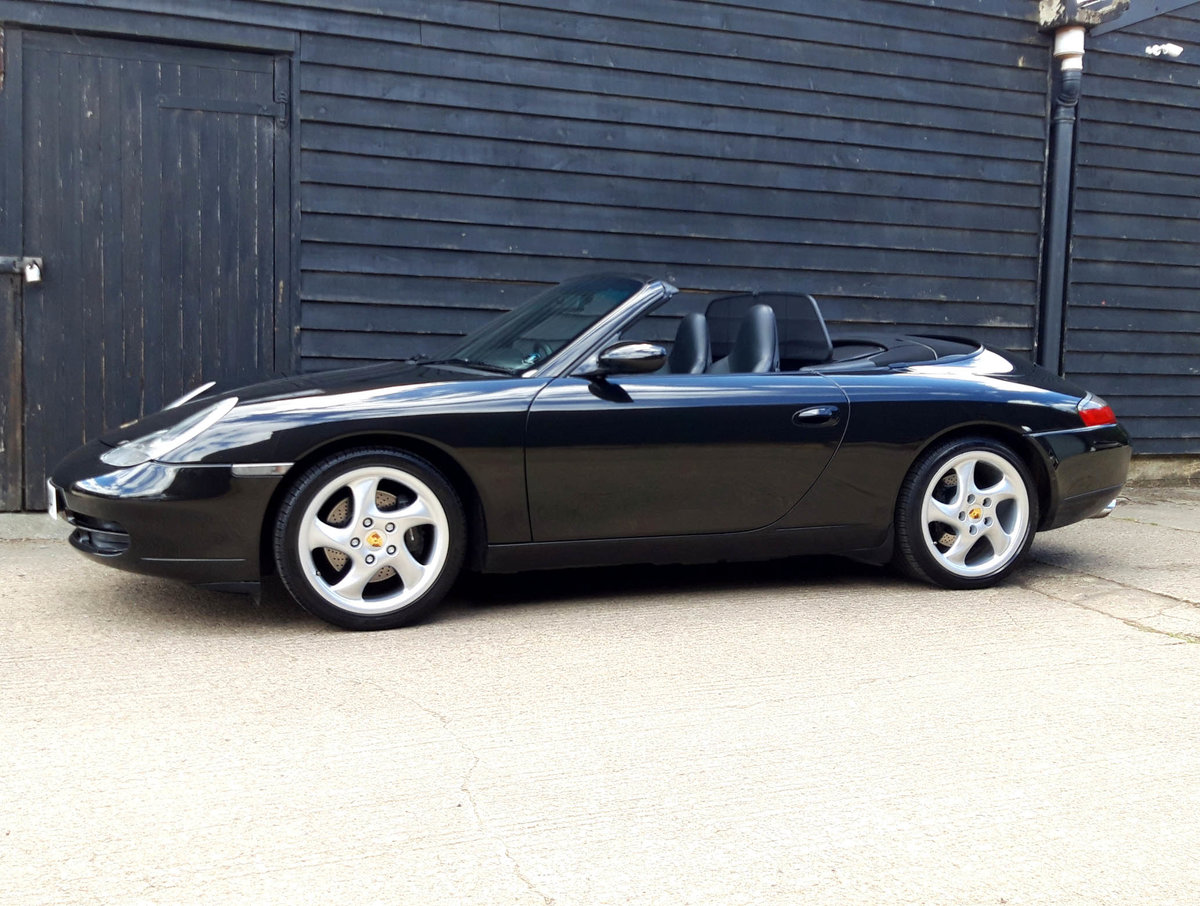 1999 PORSCHE 911/996 3.4 CARRERA 2 CAB ( Rebuilt Engine & IMS ) SOLD (picture 1 of 6)