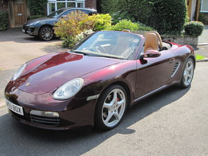 Porsche Boxster Immaculate, one owner, Dealer FSH